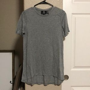 MPG gray Hero Knit short sleeve